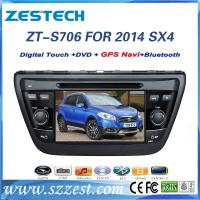 China ZESTECH 7inch car dvd gps for Suzuki SX4 2014 car dvd player with gps navigation on sale