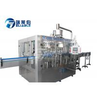 China Soft Drink Bottle Rinsing Filling Capping Machine Mineral Water Production Line wholesale