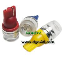 China Led Signal bulb T10 1.5W high power led interior signal lighting with lens wholesale