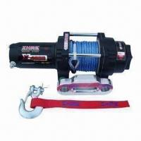 China Auto Winch with 4,000lbs Rated Line Pull and 198:1 Gear Ratio wholesale