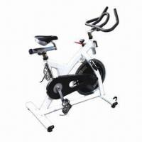 China Cardiovascular Equipment/Commercial Grade Spin Bike (Belt Driven), Made of Steel wholesale