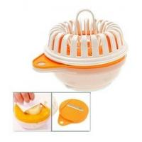 China Stainless Steel Plastic Vegetable Cutter Microwave Food Chopper Potato Slicer wholesale