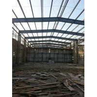China Steel Framed Prefabricated Industrial Buildings Anti Corrosion Painting Fast Installation wholesale