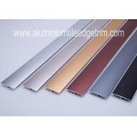 China Eco - Friendly Aluminum Floor Transition Profiles Anodized Color At Doorway / Threshold on sale
