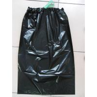 China Customized Black Disposable Garbage Bag with Two Green Ribbon wholesale