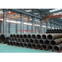 China ASTM A53Gr.B / API 5L Gr.B LSAW steel pipes / tubes sch 120 carbon steel pipe for building material with black painting wholesale