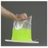 China GSBTeco Tedlar® PVF Liquid sampling bag 3 side seal with Clip-n-Seal  TDL_10L Sample bags wholesale