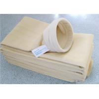 China Flame Retardant Cement Dust Filter Bag Large Filtration Surface Area wholesale