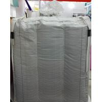 China Grounded PP FIBC Conductive Big Bag Bulk Storage Bags White 2205lbs on sale