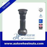 China Zinc Plating Truck Wheel Nuts With107mm Length Bolt , 38mm Length Nut wholesale