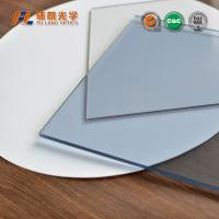 China Scratch Resistant Hard Coated Acrylic Sheet 6mm Thick SGS ISO Certificate wholesale
