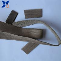 China Pure silver plated conductive nylon hook and loop tape shielding electromagnetic wave radiation 25mm width-XTAA073 wholesale