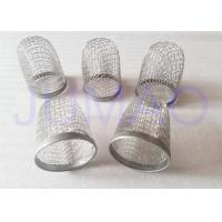 China Diamond Holes Stainless Steel Crimped Wire Mesh Filter Caps - 304 L wholesale