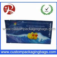 China Printed Plastic Food Packaging Bags , Side Gusset Wet Wipes Tissue Packaging Bag wholesale