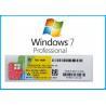 China Microsoft Windows 7 Product Key Codes Genuine OEM License Activation Online wholesale