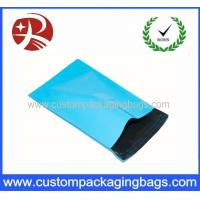 China Baby Blue Plastic Inflatable Packaging Blue Polythene Postal Mailing Bag wholesale