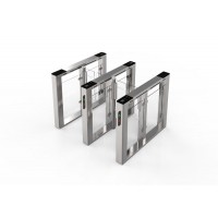 China Face Recognition SUS304 Speed Gate Turnstile 50Person/min wholesale