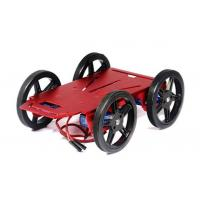 Buy cheap Arduino Mobile Platform 4WD Drive Aluminum Mobile Robot Car Chassis from wholesalers
