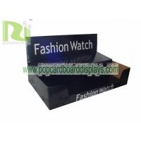 China Customized Box Watch Cardboard Display Black Corrugated Carton Box ENCA019 wholesale