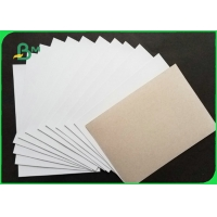 China 230gsm 250gsm Grey Back Duplex Board For Shirt Liner Smooth Surface 610 * 860mm on sale