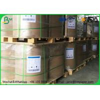 China Offset Plain Glossy Coated Paper 50 gram 55gram Standard Roll Width For Writing Paper wholesale