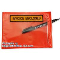 China Zip Lock Envelope Biodegradable Mailing Bags Kraft Cardboard Pocket on sale