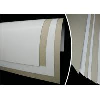 China 6% - 8% Moisture Smooth Duplex Paper Board White Coated Grey Back Offset Printing on sale