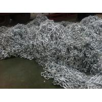 China bright electro galvanzied dock fence chain wholesale