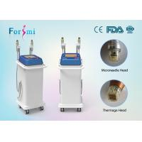 China medical CE approved spa use effective acne vertical professional thermagic skin tightening rf micro needle machine wholesale