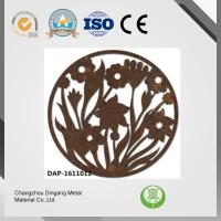 China Rusting Effect Laser Cut Corten Steel Excellent Paintability And Machinability wholesale