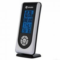 China Wireless Atomic Table Clock With Thermometer wholesale