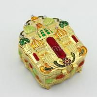 China Castle Desgin Wedding Decoration Metal Gift Box for Jewelry Wholesale wholesale
