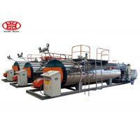 China Automatic Fire Tube Gas Fired 1Tons Industrial Steam Boiler for Textile / Chemical / Food and Brewery wholesale