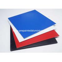 China Prepainted Color Coated Aluminium Coil For Roofing , Thickness 0.1-2.5mm wholesale