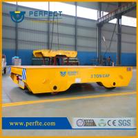 China China Manufacture Rail Mounted High Quality Steel Plant Battery Transfer Car wholesale