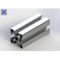 China 10.2mm Hole 45 * 45 Aluminum T Slot Table Plates 1.3mm Thickness Design wholesale