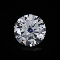 China Round Cut Loose Synthetic Diamond Moissanite Huge 13ct  15 mm Super White DEF VVS1 wholesale
