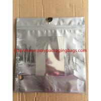 China Customized Made  Underwear Plastic Poly Bags With Hangers Hook 3 Colors Gravure Printing wholesale