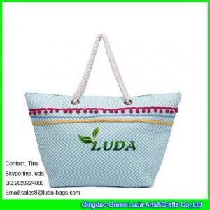 China LUDA korea fashion ladies handbag paper straw beach handbags trendy laides handbags wholesale