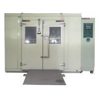 China Temperature Humidity Controlled Big Environmental Test Chamber with Slope wholesale