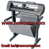 China 24 Automatic Contour Vinyl Cutter With Stand Vehicle Graphic Cutting Plotter Sign Cutter wholesale