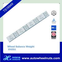 China Zn Die Casting Coated Stick On Adhesive Wheel Balance Weight Lead Free wholesale