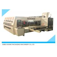 China Lead Edge Feeder Print And Die Cut Machine Automatically For Making Carton Box wholesale