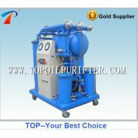 China Single stage vacuum insulating oil purification machine, portable type, ready for operation on sale