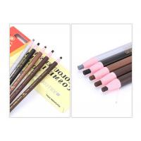 China Wood Material Tattoo Accessories , Water Proof Cosmetics Pull Paper Roll Permanent Makeup Eyebrow Pencil With 5 Colors wholesale
