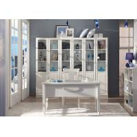 China Large Bookcase Contemporary Home Office Furniture With Writing Desk wholesale
