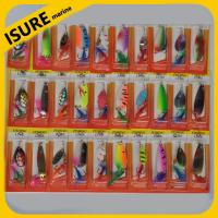 China New Fishing Lures Spinner Baits Crankbait Assorted Fish Tackle Hooks wholesale