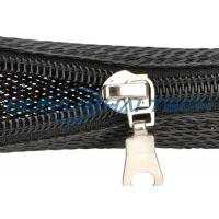China Automotive Zipper Sleeve Cable Wrap For Harness Management Protection wholesale