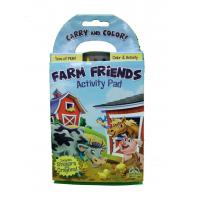 China 4.13*7.56'' Custom Size Professional Book Printing Farm Friends Activity Pad wholesale