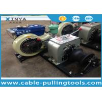 China 3 Ton Hoist diesel engine winch for Erection Towers During Transmission Line wholesale